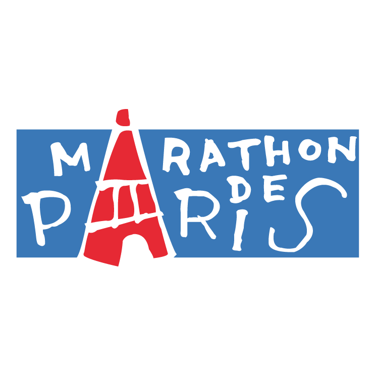 free vector Marathon de paris