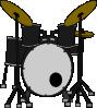 free vector Marcelomotta Drums clip art