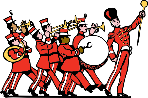 Clip Art Marching Band Clip Art marching band clip art free vector 4vector art