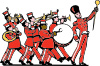 free vector Marching Band clip art