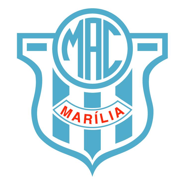 free vector Marilia atletico clubesp