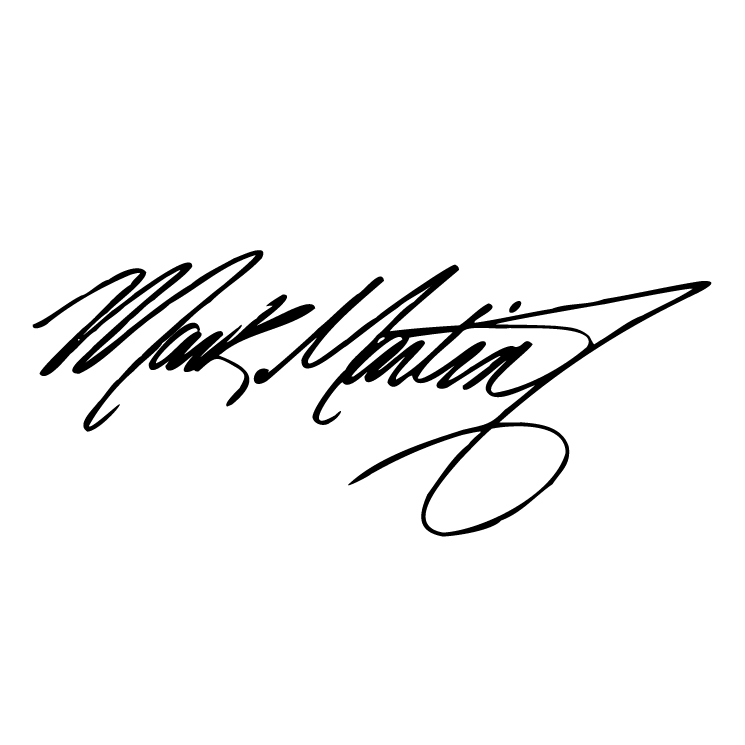 free vector Mark martin