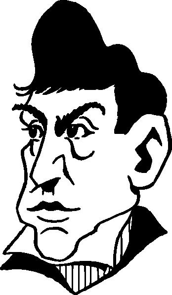 free vector Marquis De Lafayette clip art
