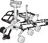 free vector Mars Exploration Rover clip art