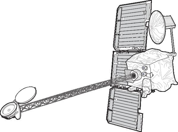 free vector Mars Orbiter clip art