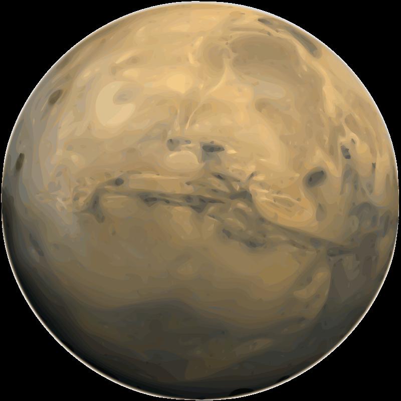 free vector Mars