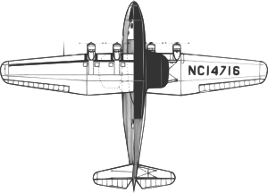 free vector Martin M Flying Boat clip art