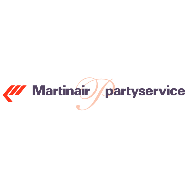free vector Martinair partyservice