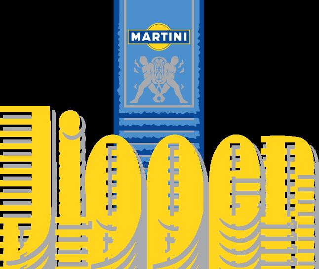 free vector Martini Jigger logo