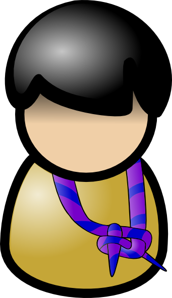 free vector Martouf Boy Scout clip art