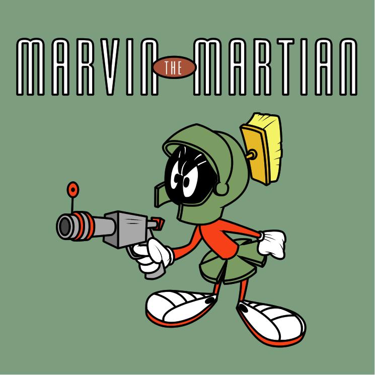 Marvin The Martian Free Vector 4vector