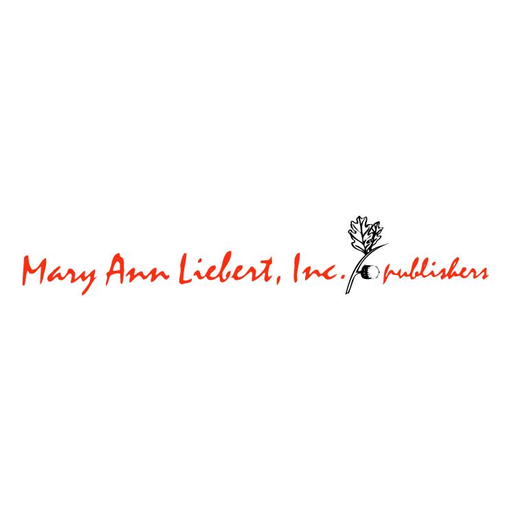 free vector Mary ann liebert