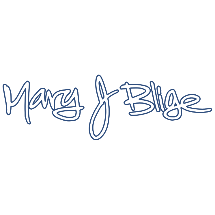 free vector Mary j blige
