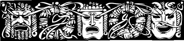 free vector Mask Border clip art 107453