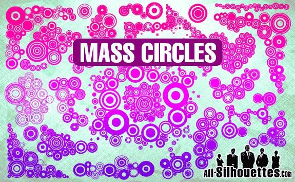 free vector Mass Circles