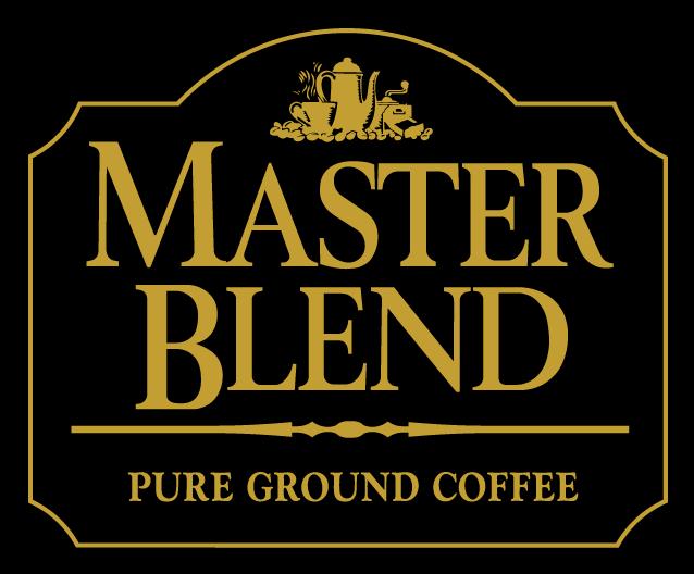 free vector Master Blend coffee logo
