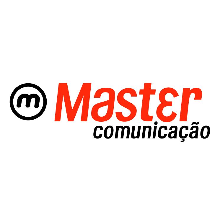 free vector Master comunicacao