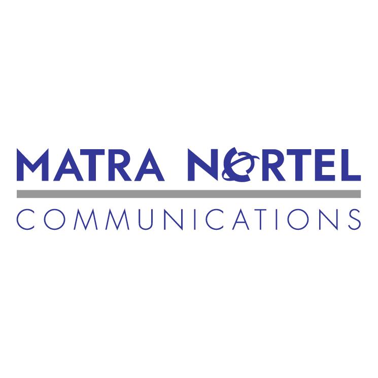 free vector Matra nortel communications