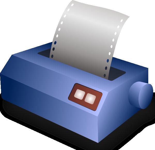 free vector Matrix Printer clip art