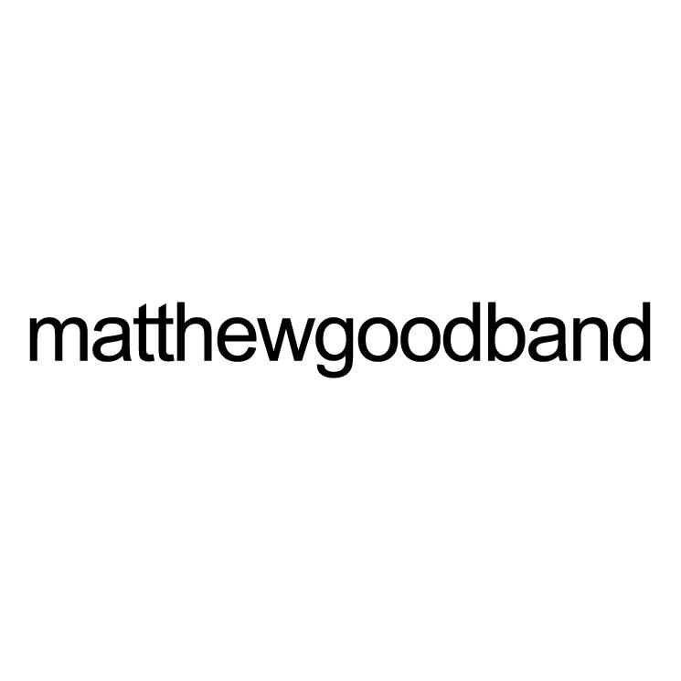 free vector Matthew good band