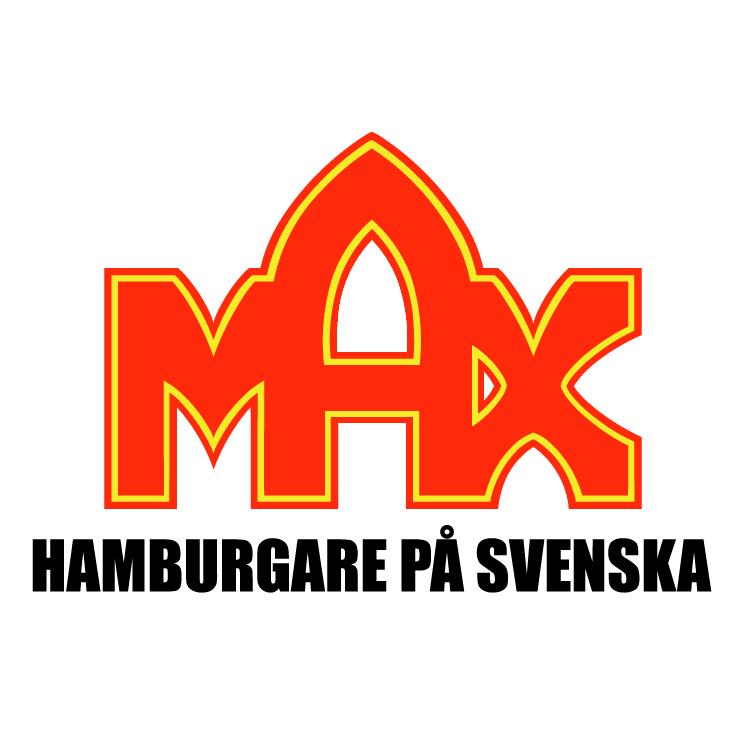free vector Max hamburgare