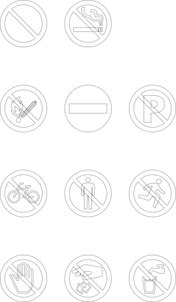 free vector Maxim Signs clip art