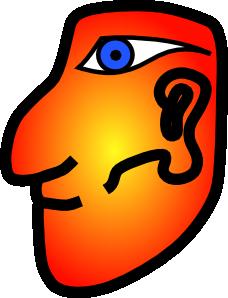 free vector Maya Head clip art