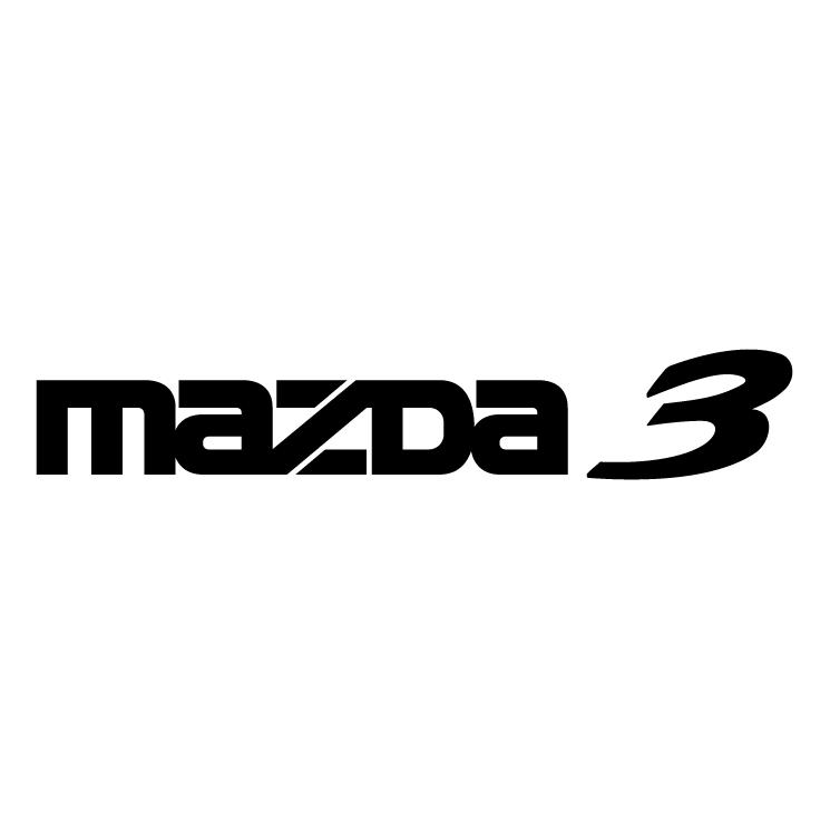 free vector Mazda 3 0
