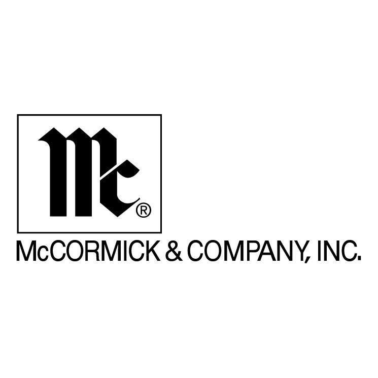 free vector Mccormick company