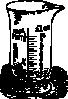 free vector Measuring Glass clip art