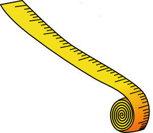 free vector Measuring Tape clip art