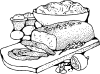 free vector Meatloaf clip art