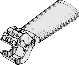 free vector Mechanical Hand clip art