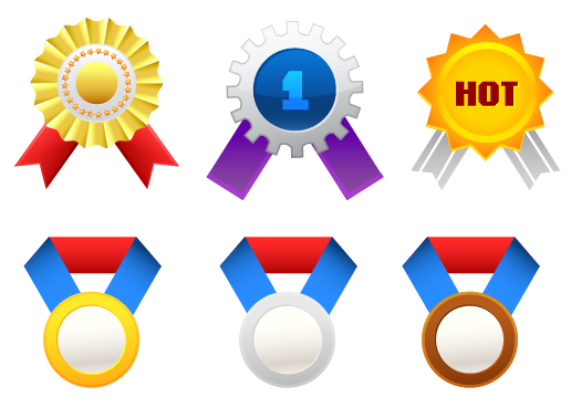 free vector Medal of medals vector