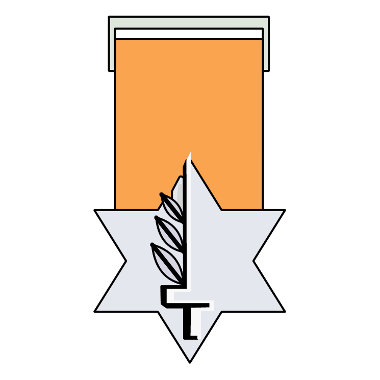 free vector Medal of valour
