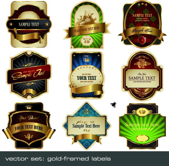 free vector Medal tag vector multiple phnom penh