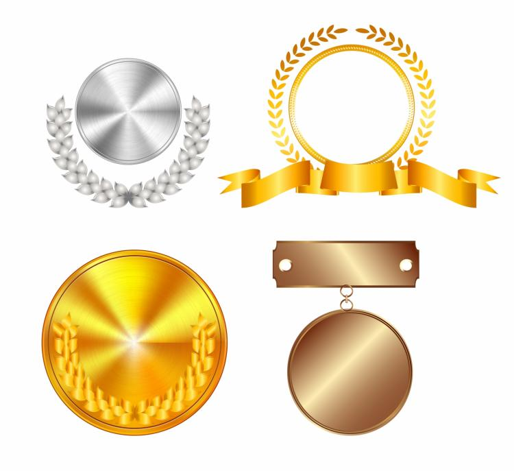 free vector Medals