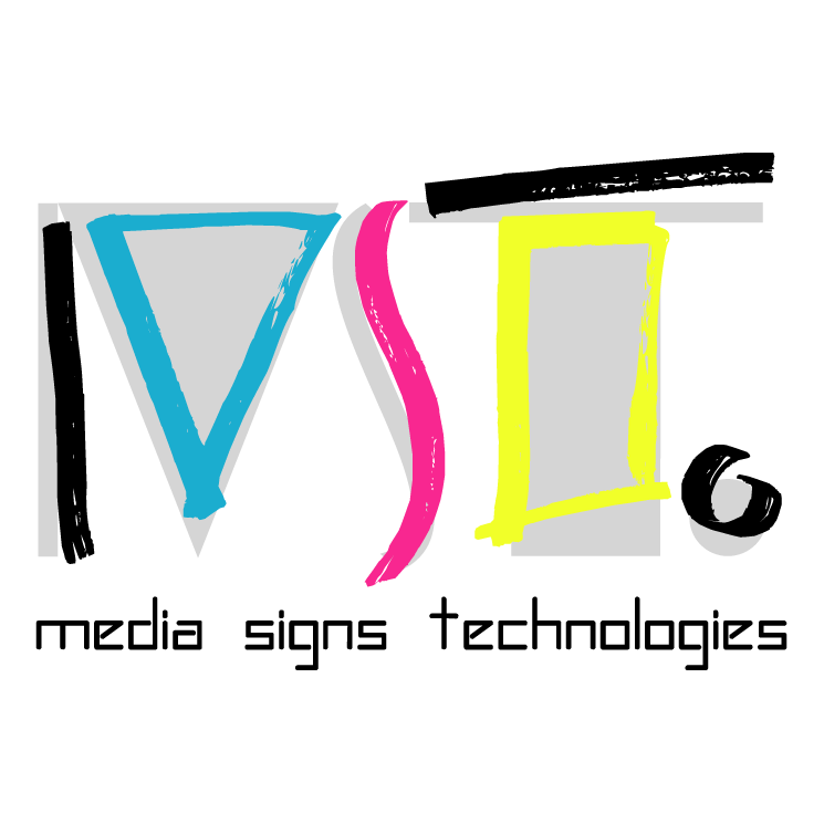 free vector Media signs technologies