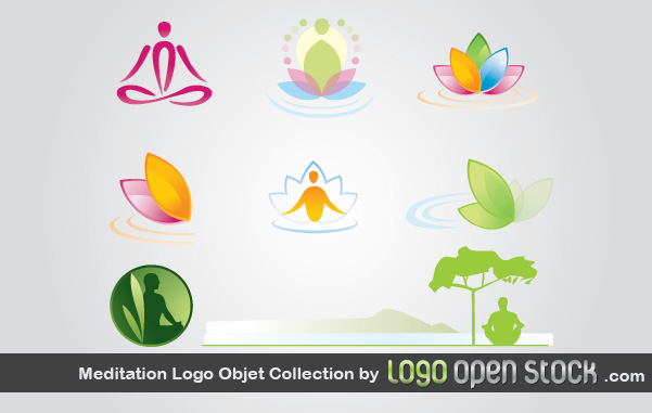 free vector Mediation Logo Object Collection