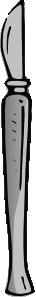 free vector Medical Scalpel clip art