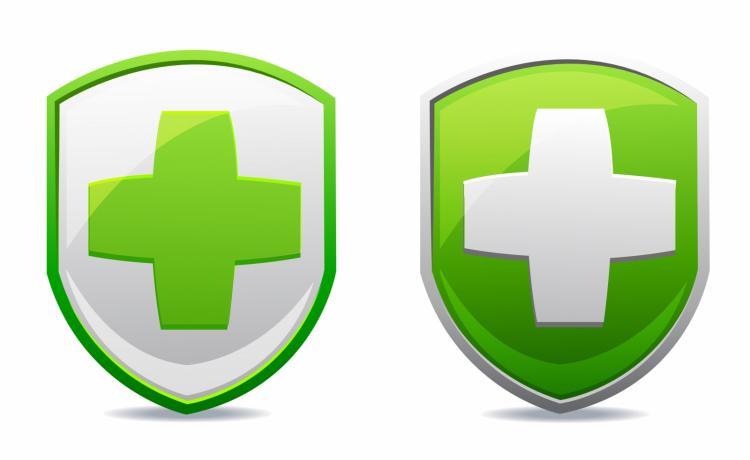 free vector Medical shield