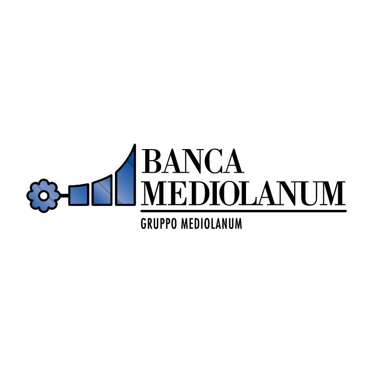 free vector Mediolanum banca 0