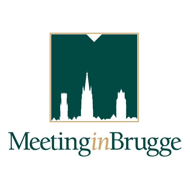 free vector Meeting in brugge