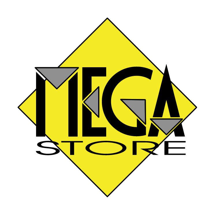 free vector Mega store