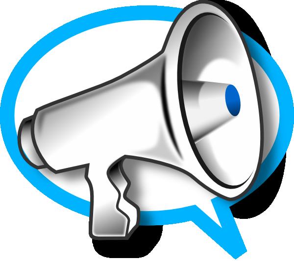 megaphone clip art free vector 4vector rh 4vector com free megaphone clipart template free megaphone clipart images