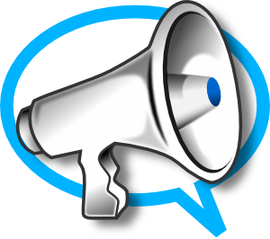 megaphone clip art free vector 4vector rh 4vector com Cheer Megaphone Clip Art Cheerleading Megaphone Clip Art Printable