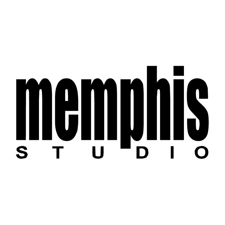 free vector Memphis studio