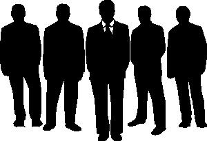 free vector Men In Black clip art
