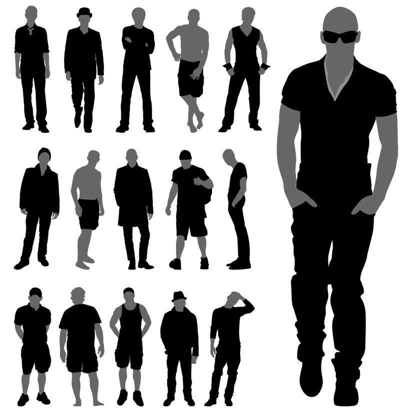 Men theme vector Free Vector / 4Vector