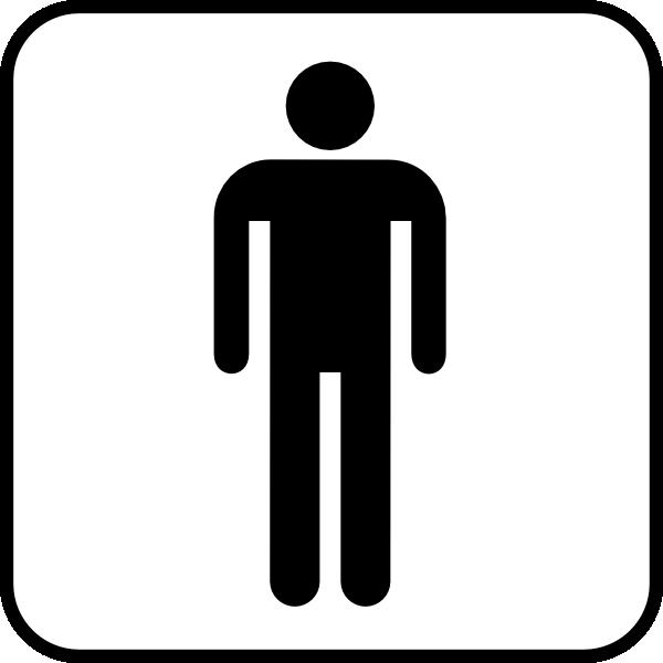 free vector Mens Room clip art